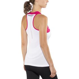 Compressport Trail Running V2 Ultra - Camiseta sin mangas running Mujer - rosa/blanco